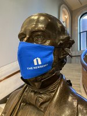 Blue Newberry N Mask