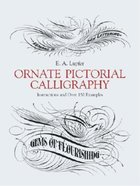 ORNATE PICTORIAL CALLIGRAPHY:
