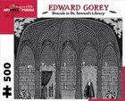 Gorey: Dracula in Seward's Library 1000 piece puzzle