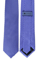 Newberry Logo Tie Silk Repeat Pattern